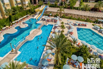 HEDEF BEACH RESORT HOTEL & SPA 5*