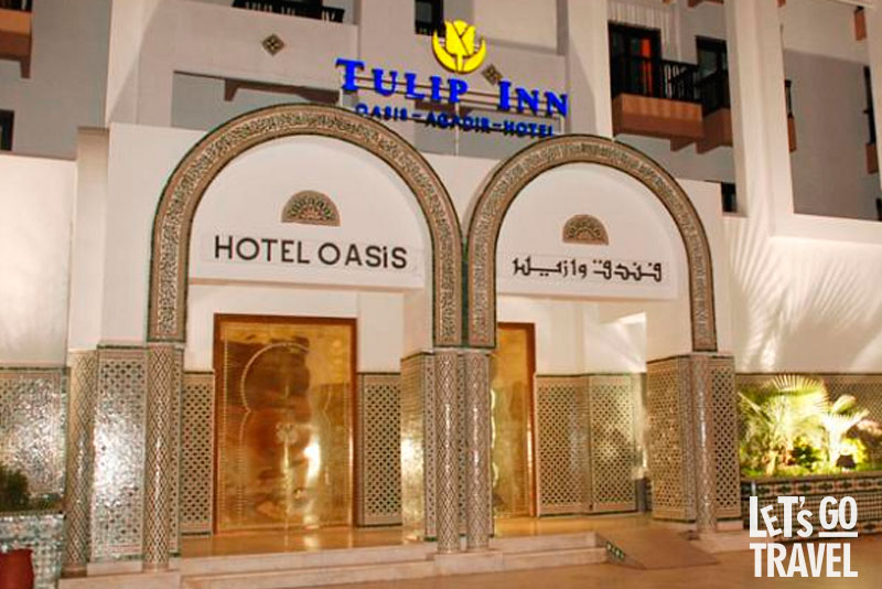 GOLDEN TULIP INN OASIS 4*