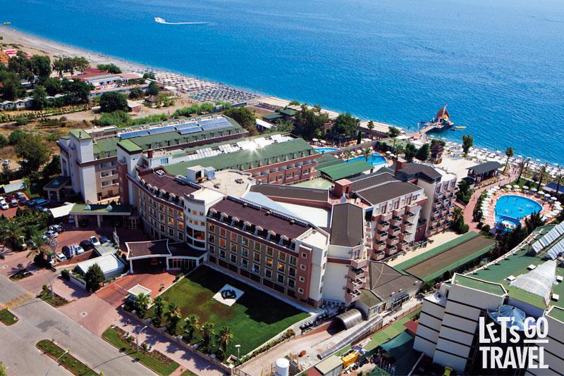PGS HOTELS ROSE RESIDENCE BEACH 5*